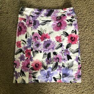 🌼 Dress barn floral skirt